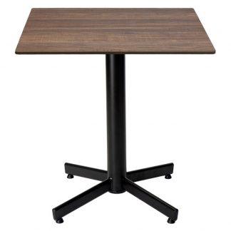 Restaurangbord Stable Table med OnTop Brown Wood