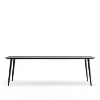 Babila Table - svart nanolaminat