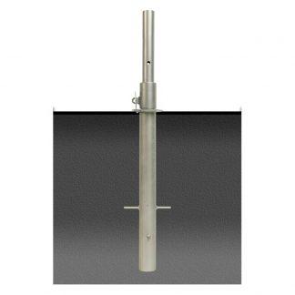 Parasollfot rostfritt för ingjutning Spuncrylic
