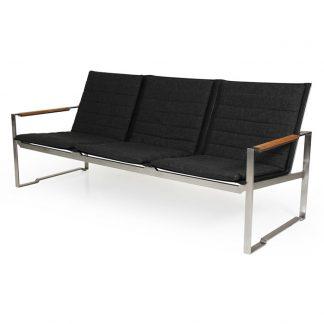 Gotland Soffa 3-sits grå