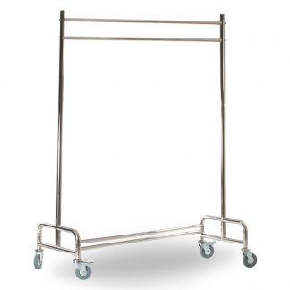 Klädvagn i rostfritt stål, Z ställningen för enkel förvaring