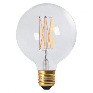 Elect LED Filament Glob 125mm Klar E27