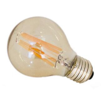 LED dimbar amber E27 4W Ø60mm