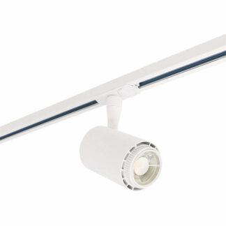 Velo led track light, 1-fas, vit, 13W, 230V
